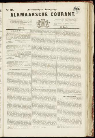 Alkmaarsche Courant 1864-06-19