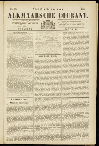 Alkmaarsche Courant 1888-04-25