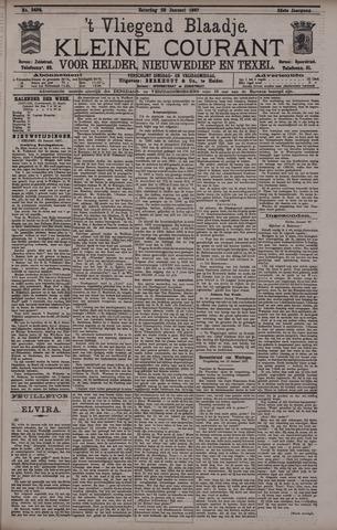 Vliegend blaadje : nieuws- en advertentiebode voor Den Helder 1897-01-23