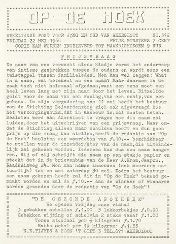 Op De Hoek, weekblad voor Akersloot 1964-05-22