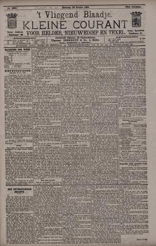 Vliegend blaadje : nieuws- en advertentiebode voor Den Helder 1895-10-26
