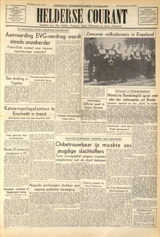 Heldersche Courant 1953-01-12