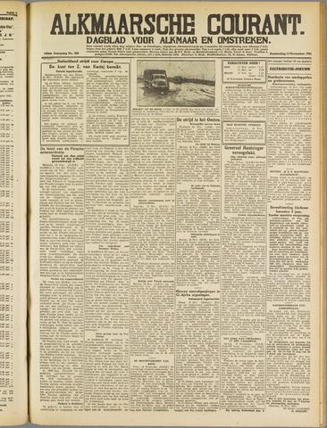 Alkmaarsche Courant 1941-11-13