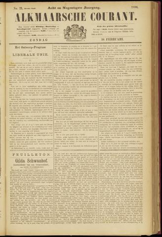 Alkmaarsche Courant 1896-02-16