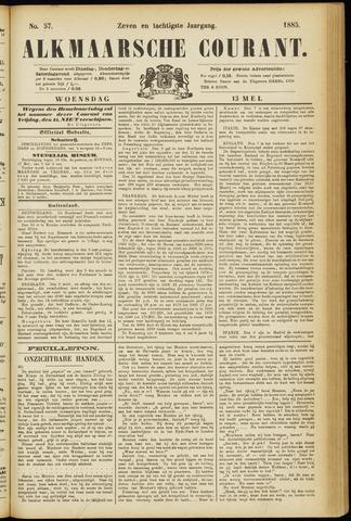 Alkmaarsche Courant 1885-05-13