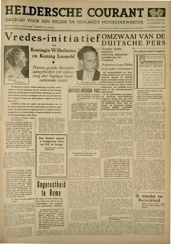 Heldersche Courant 1939-08-30