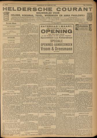 Heldersche Courant 1924-02-28