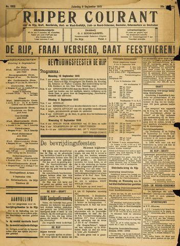 Rijper Courant 1945-09-08