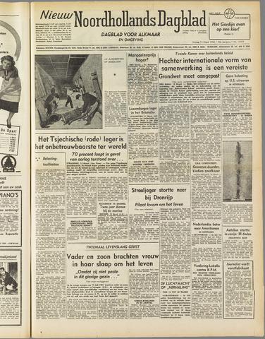 Nieuw Noordhollandsch Dagblad : voor Alkmaar en omgeving 1952-03-14