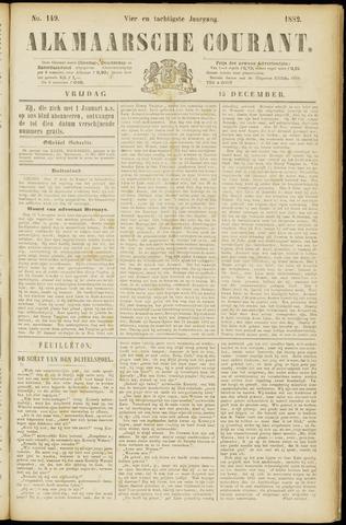 Alkmaarsche Courant 1882-12-15