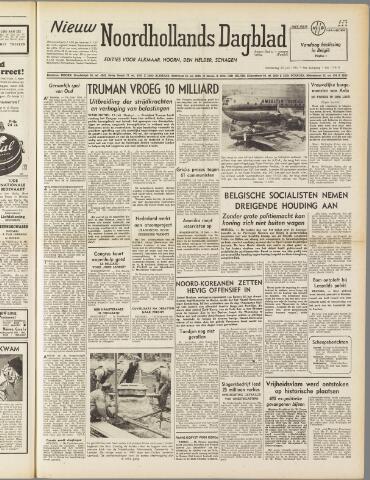 Nieuw Noordhollandsch Dagblad : voor Alkmaar en omgeving 1950-07-20