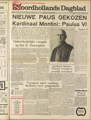 Noordhollands Dagblad : dagblad voor Alkmaar en omgeving 1963-06-21