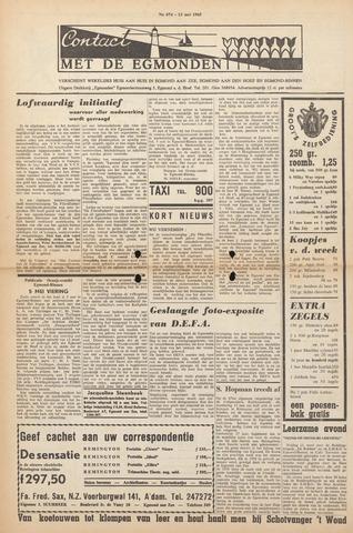 Contact met de Egmonden 1965-05-13