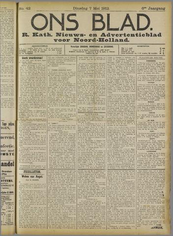Ons Blad : katholiek nieuwsblad voor N-H 1912-05-07