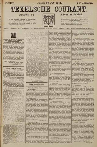 Texelsche Courant 1911-07-30