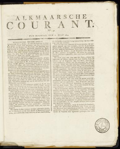 Alkmaarsche Courant 1814-07-11