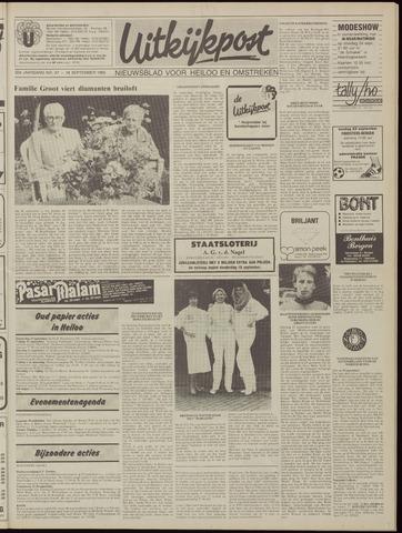 Uitkijkpost : nieuwsblad voor Heiloo e.o. 1985-09-18