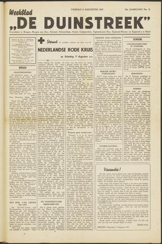 De Duinstreek 1947-08-08