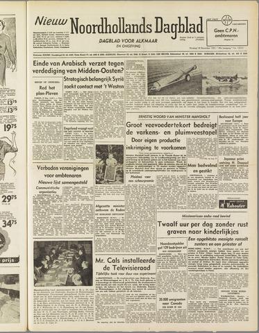 Nieuw Noordhollandsch Dagblad : voor Alkmaar en omgeving 1951-12-18