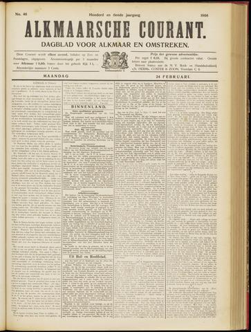 Alkmaarsche Courant 1908-02-24