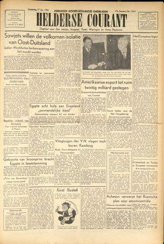 Heldersche Courant 1952-01-17