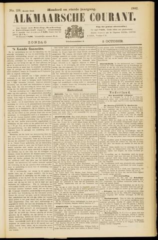 Alkmaarsche Courant 1902-10-05