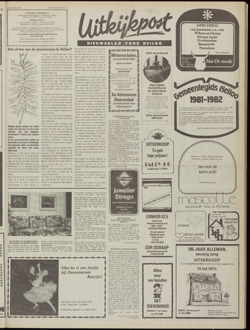 Uitkijkpost : nieuwsblad voor Heiloo e.o. 1981-01-14