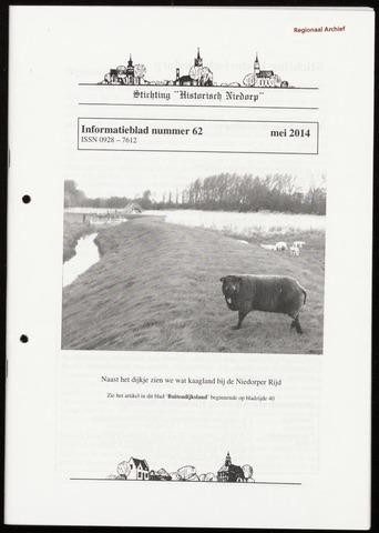 Informatieblad stichting Historisch Niedorp 2014-05-01