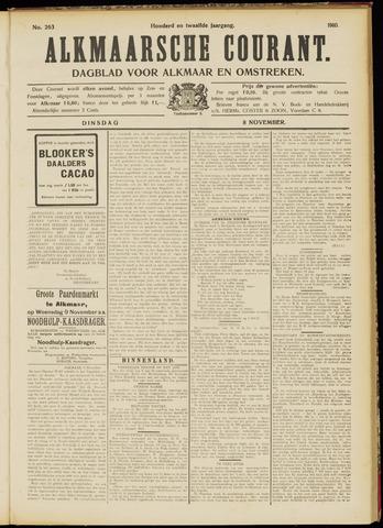 Alkmaarsche Courant 1910-11-08