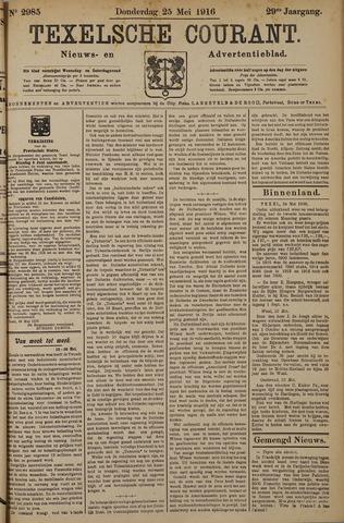 Texelsche Courant 1916-05-25