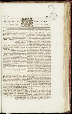 Alkmaarsche Courant 1832-08-20