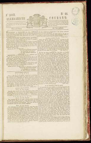 Alkmaarsche Courant 1847-11-15