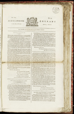 Alkmaarsche Courant 1820-07-31