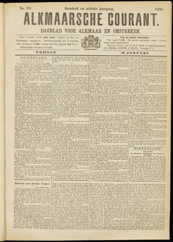 Alkmaarsche Courant 1906-01-12