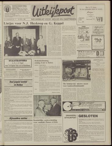 Uitkijkpost : nieuwsblad voor Heiloo e.o. 1986-04-30