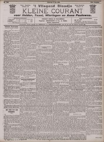 Vliegend blaadje : nieuws- en advertentiebode voor Den Helder 1903-06-06