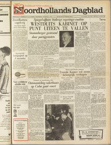 Noordhollands Dagblad : dagblad voor Alkmaar en omgeving 1962-11-03