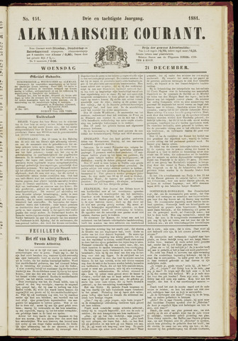 Alkmaarsche Courant 1881-12-21