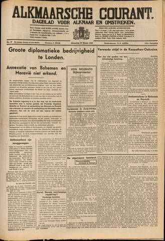 Alkmaarsche Courant 1939-03-20