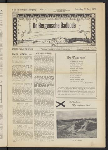 Bergensche bad-, duin- en boschbode 1950-08-26