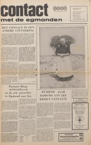 Contact met de Egmonden 1976-09-29