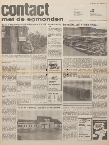 Contact met de Egmonden 1980-10-22