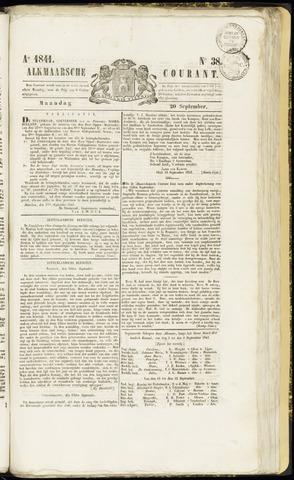 Alkmaarsche Courant 1841-09-20
