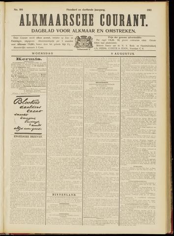 Alkmaarsche Courant 1911-08-09