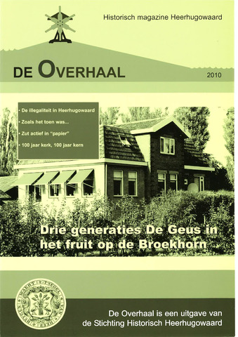 De Overhaal: historisch magazine Heerhugowaard 2010-01-01