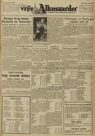 De Vrije Alkmaarder 1947-04-14