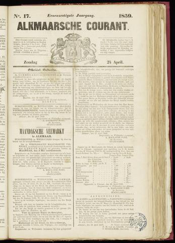 Alkmaarsche Courant 1859-04-24