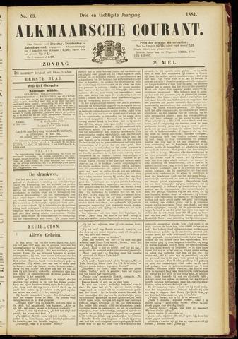 Alkmaarsche Courant 1881-05-29