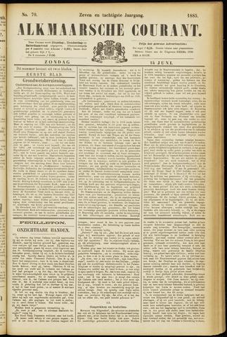 Alkmaarsche Courant 1885-06-14