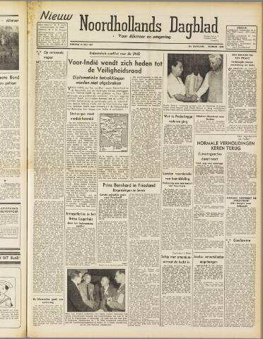 Nieuw Noordhollandsch Dagblad : voor Alkmaar en omgeving 1947-07-29